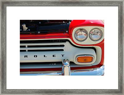 Apache Framed Print by Jame Hayes