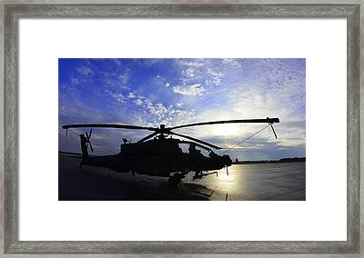 Apache Morning Framed Print