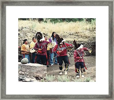 Framed Print featuring the photograph Apache Rain Dance by Juls Adams