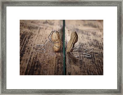 Apart Framed Print by Nailia Schwarz