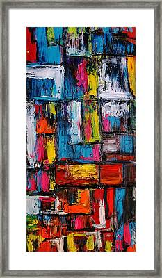 Apartment Block 2 Framed Print