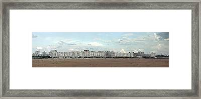 Apartment Blocks At The Waterfront, St Framed Print by Panoramic Images