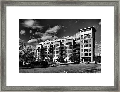 Apartment In Akron Framed Print by William Woide