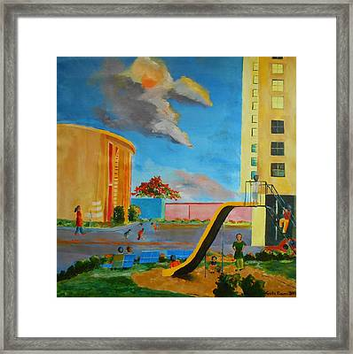 Apartment Living Framed Print