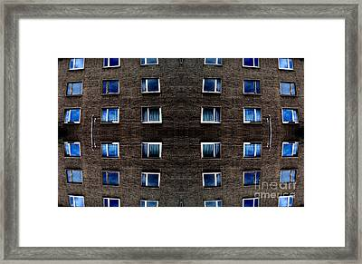 Apartments In Berlin Framed Print by Andy Prendy