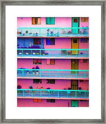 Apartments Framed Print