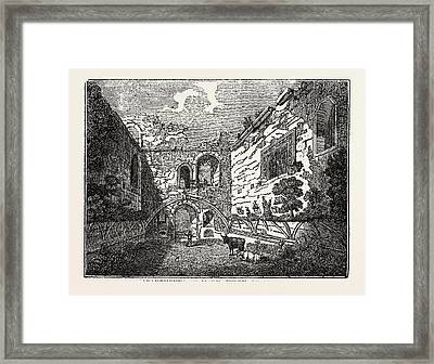 Apartments Of Mary Queen Of Scots In Tutbury Castle Framed Print