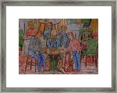 Apathy Framed Print by Caroline Street