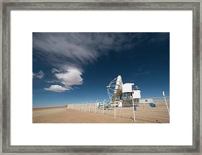 Apex Telescope Framed Print by Iztok Boncina/eso