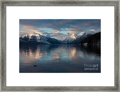 Framed Print featuring the photograph Apgar Afternoon 3 by Katie LaSalle-Lowery