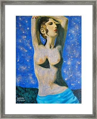Aphrodite  Framed Print by Augusta Stylianou