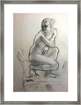 Aphrodite Framed Print by H James Hoff