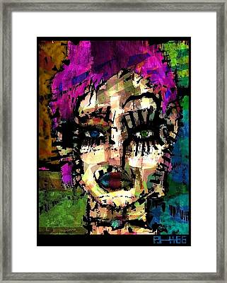 Aphrodite You're Alrightee  Framed Print by Brett Sixtysix