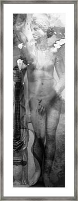 Aphrodite's First Love 2 - Guitar Art By Sharon Cummings Framed Print