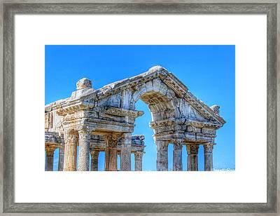 Aphrodite's Gateway Framed Print by Auntieblues
