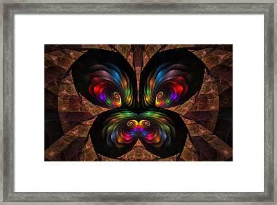 Apo Butterfly Framed Print by GJ Blackman