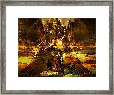 Apocalipse 2 Framed Print by Safir  Rifas