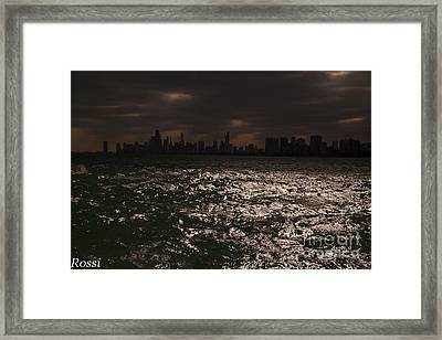 Apocalypse Framed Print by Rossi Love