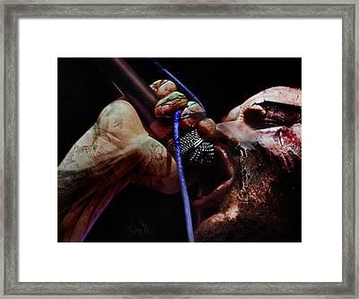 Apocalypsis Framed Print by David Fox
