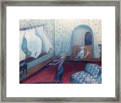 Apollinaire's First Symphony Framed Print by Genevieve Esson