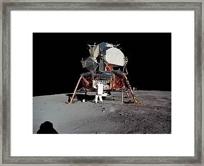 Apollo 11 Lunar Module Framed Print by Nasa/detlev Van Ravenswaay