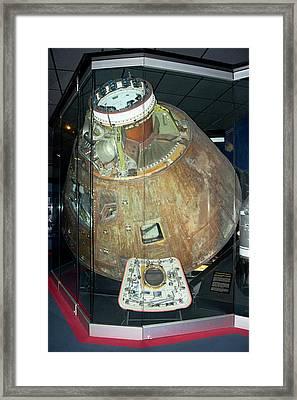 Apollo 13 Capsule. Framed Print