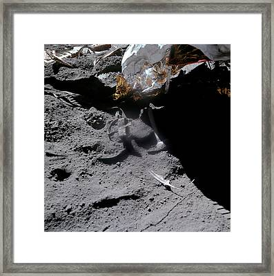 Apollo 15 Gravity Demonstration Framed Print by Nasa