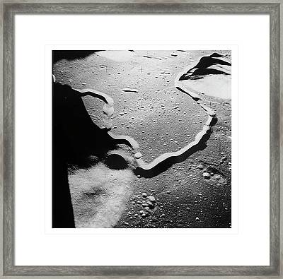 Apollo 15 Landing Site Framed Print
