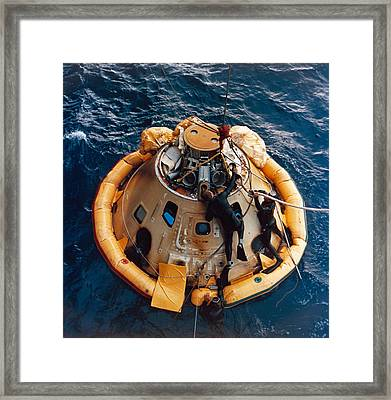 Apollo 6 Recovery, 1968 Framed Print