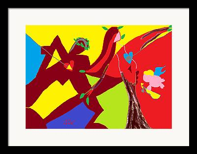 Archetypal Drawings Framed Prints