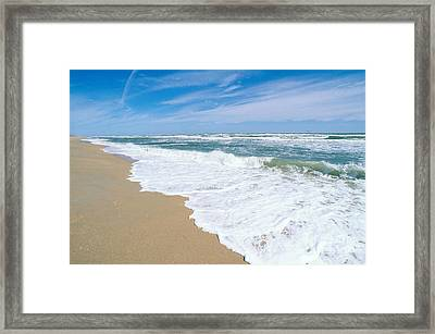 Apollo Beach Framed Print by Millard H. Sharp