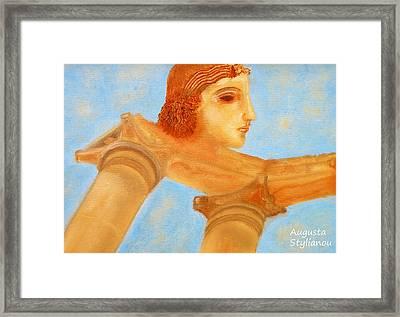 Apollo Hylates Framed Print