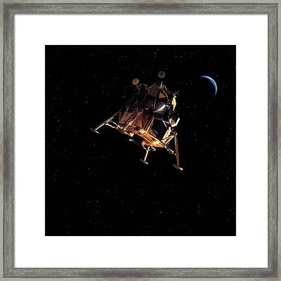 Apollo Lunar Module Framed Print