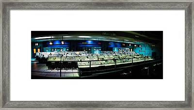 Apollo Mission Control Framed Print