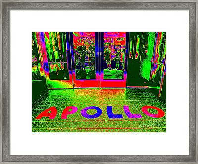 Apollo Pop Framed Print by Ed Weidman