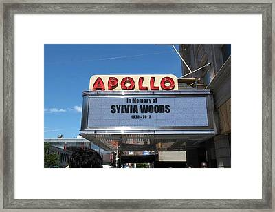Apollo Theater Framed Print by Gail Starr