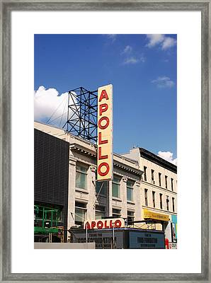 Apollo Theater Framed Print by Martin Jones