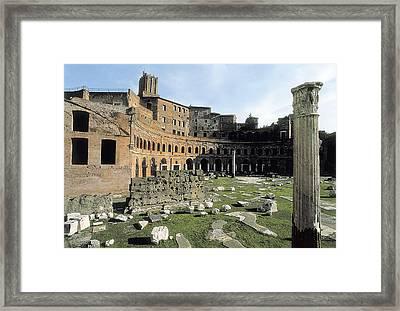 Apollodorus Of Damascus 60-129. Forum Framed Print