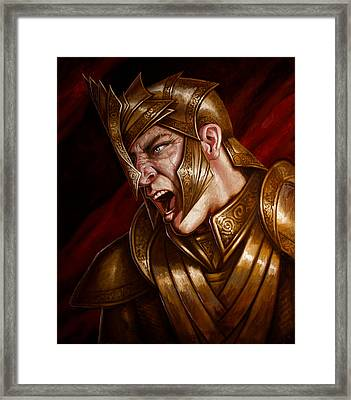 Apophis Framed Print by Mark Zelmer