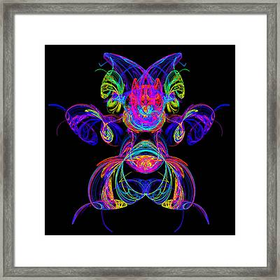 Apophysis Puppy Framed Print by Pat Follett