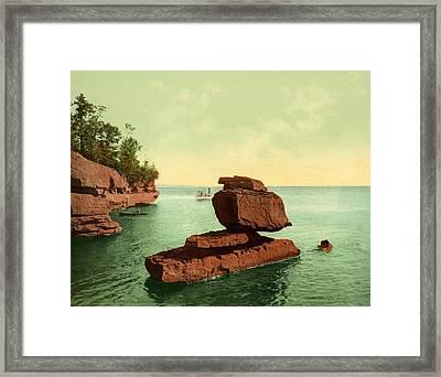 Apostle Islands Sphinx Framed Print