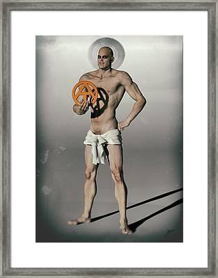 Apostle Of Darwin Framed Print by Quim Abella