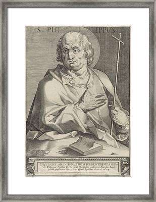 Apostle Philip, Egbert Van Panderen Framed Print