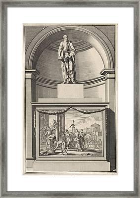 Apostle Philip, Jan Luyken, Zacharias Chatelain II Framed Print