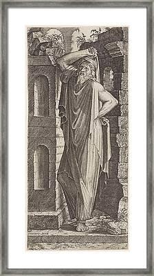 Apostle Philip, Lambertus Suavius Framed Print