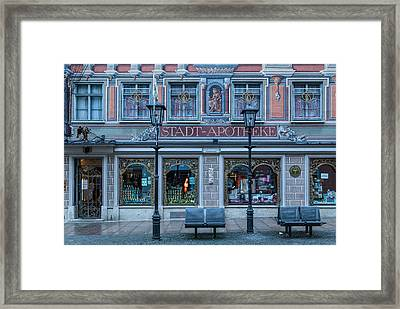 Apotheke Framed Print