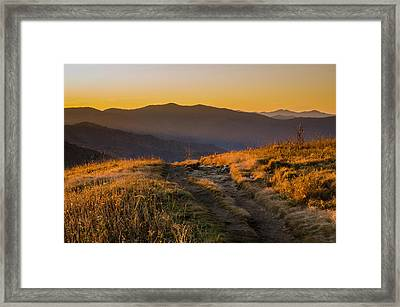 Appalachian Afternoon Framed Print by Serge Skiba