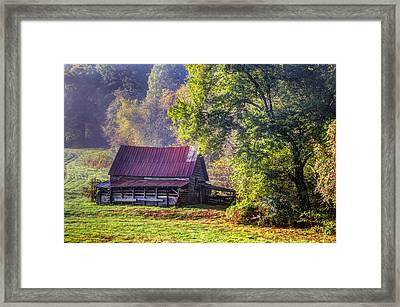 Appalachian Farmland Framed Print