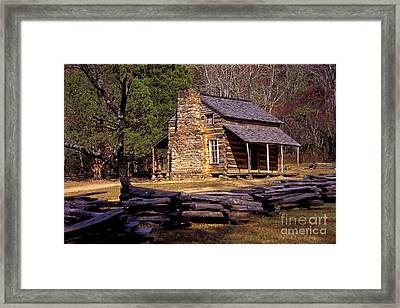 Appalachian Homestead Framed Print