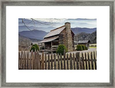 Appalachian Mountain Cabin Framed Print
